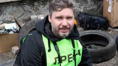 Missing Russian reporter in E. Ukraine may be arrested – Kiev official