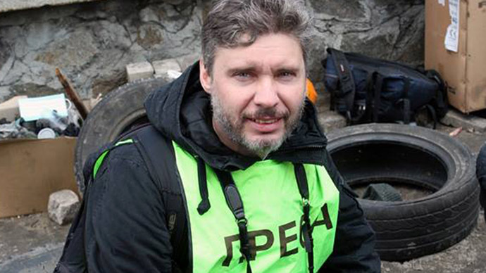 Russian journalist's kidnapping sparks multiple investigations, Kiev stays silent