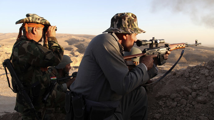 US starts providing weapons to Kurdish forces in Iraq - report