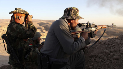 US sends 130 additional military advisors to Iraq's Kurdistan