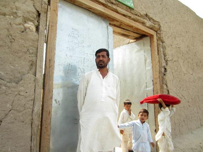 Rafiuddin Kashkaki, whose son Habibuddin and brother Hafizuddin were killed by US forces during a night raid on 14 May 2010.