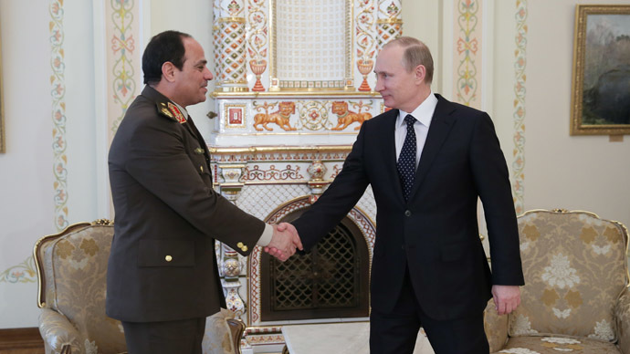 Putin to host meeting with Egypt's Sisi in Moscow