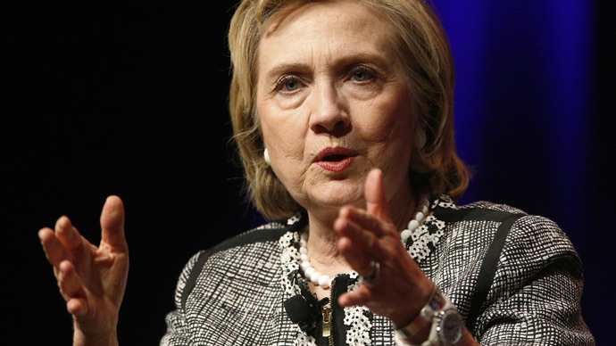 Hillary Clinton bashes Obama's foreign policy for giving rise to Islamic State in Iraq