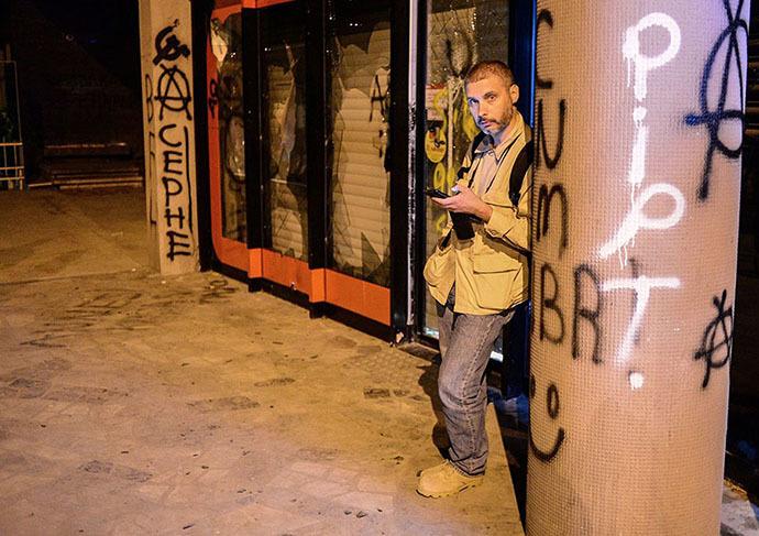 Rossiya Segodnya special photojournalist Andrei Stenin. Photo by Damir Bulatov. Archive photo. (RIA Novosti)