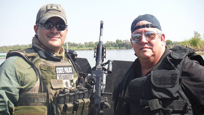 Armed militia faces off with bat-counting biologists at US-Mexico border