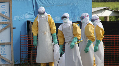 US looking to boost production of experimental Ebola drug