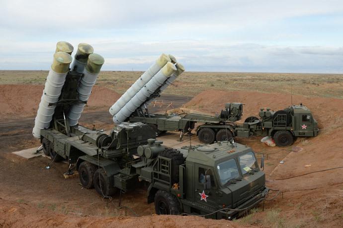 The S-400 Triumf anti-aircraft system (RIA Novosti / Mihail Mokrushin)