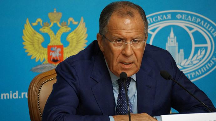 Russian Foreign Minister Sergey Lavrov (RIA Novosti)