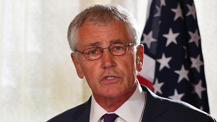 US Secretary of Defense Chuck Hagel (AFP Photo / Dan Himbrechts)