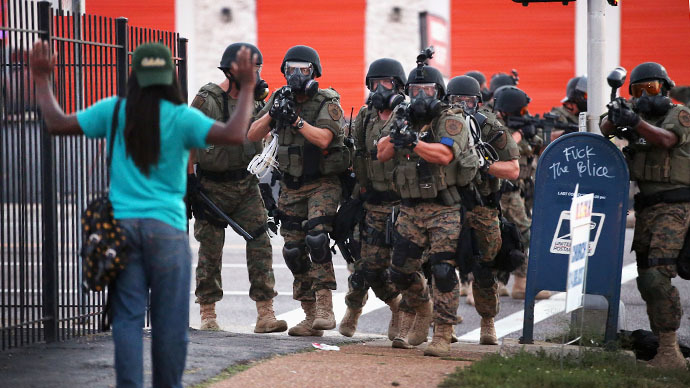 Watchdog groups slam Ferguson police 'harassment' of reporters