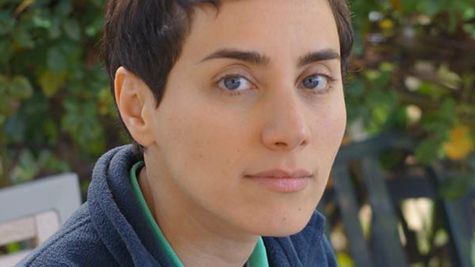 Maryam Mirzakhani (Image from theiranproject.com)