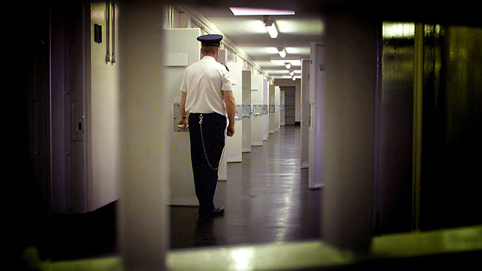 UK prisoners detained in cells without power or running water for 2 days