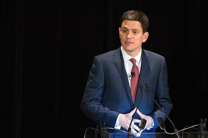 IRC President and CEO David Miliband (Reuters / Andrew Kelly)