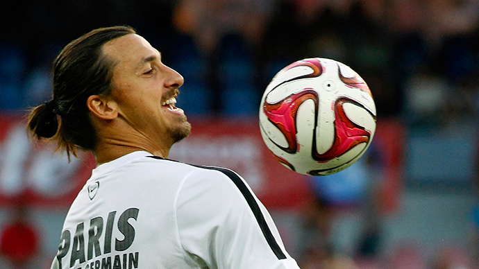 ​Zlatan Ibrahimovic gives $50,000 to help Swedish learning difficulties team make World Cup