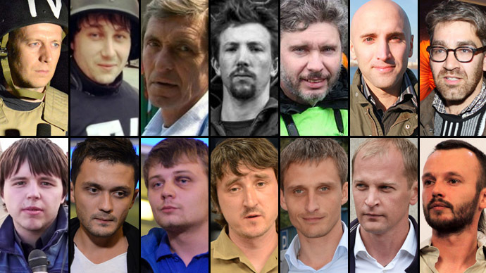In the line of fire: Journalists killed and abducted in Eastern Ukraine