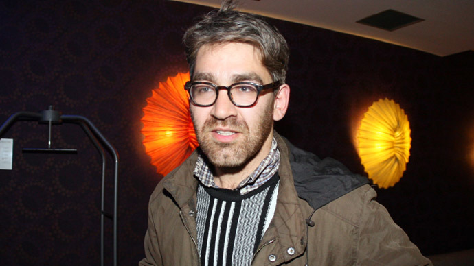 US journalist Simon Ostrovsky (AFP Photo)