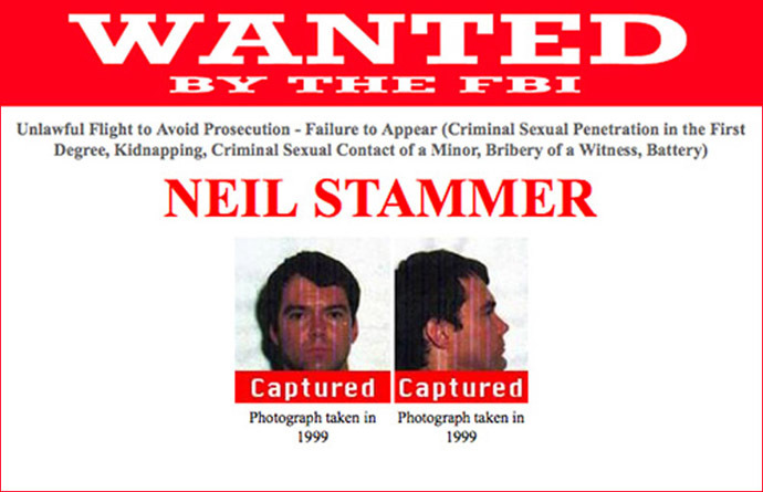 Former New Mexico resident Neil Stammer was captured in Nepal earlier this year after 14 years on the run. (Image from www.fbi.gov)