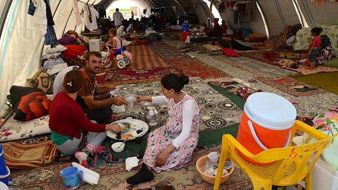 UK boosts financial support for 12,000 stricken Yazidis