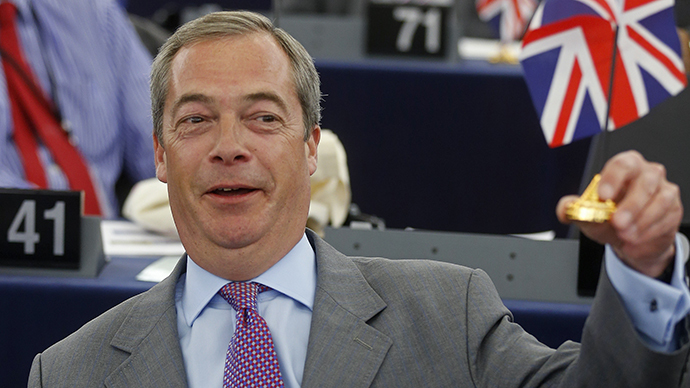 ​'I'm joining UKIP!' Tory MP defects to join Farage's anti-EU crusade
