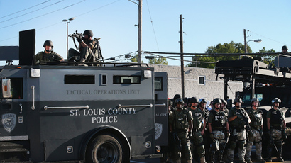 Obama questions police militarization, orders Ferguson-inspired probe – report