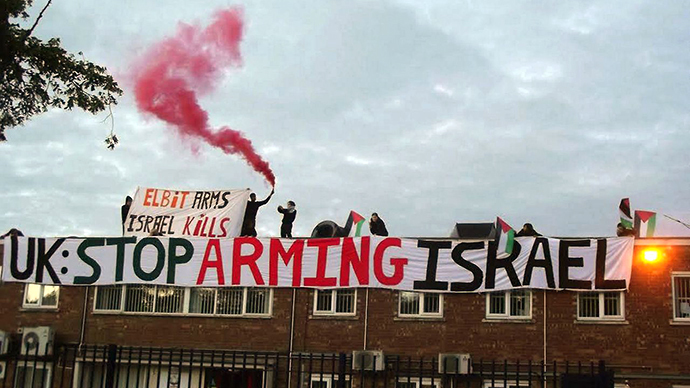 Business as usual: UK arms factories 'profit' from Palestinian bloodshed