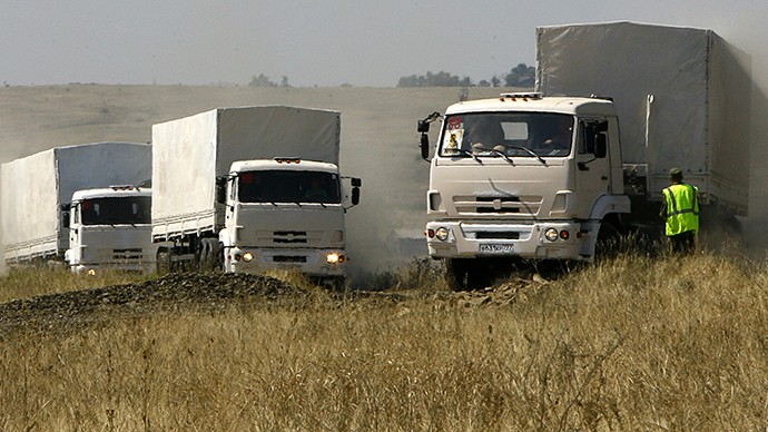 Aid convoy to Ukraine faces disruption, may be attacked - Russia