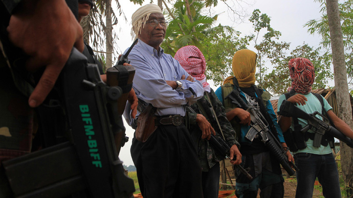 Bangsamoro Islamic Freedom Fighters (AFP Photo / Mark Navales)
