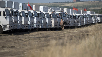 No ammunition moved through Russia-Ukraine border - OSCE monitors
