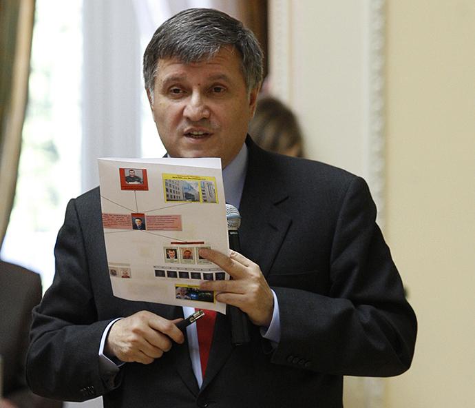Interior Minister Arsen Avakov (RIA Novosti / Grigory Vasilenko)