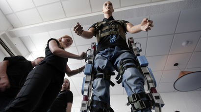 Paraplegic groom walks down aisle thanks to robotic exoskeleton (VIDEO)
