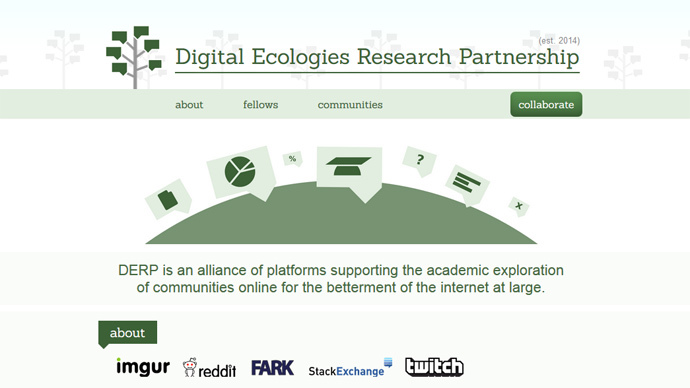 Reddit, Imgur and Twitch launch 'DERP' data research study