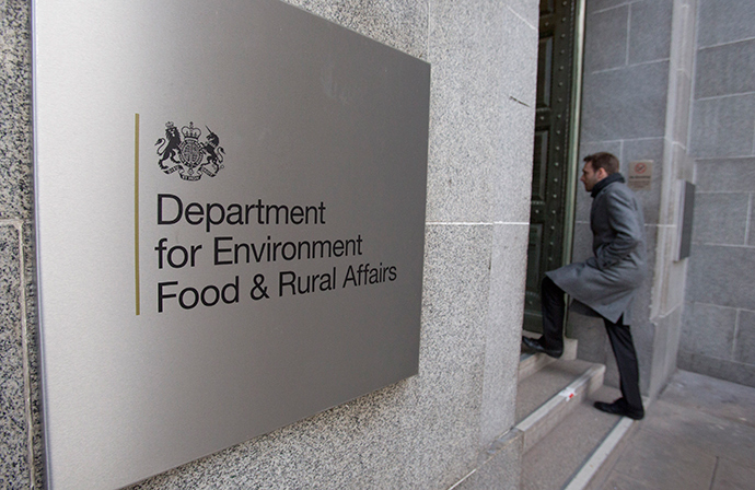 The Department for Environment, Food and Rural Affairs (DEFRA) headquarters, central London. (Reuters / Neil Hall)