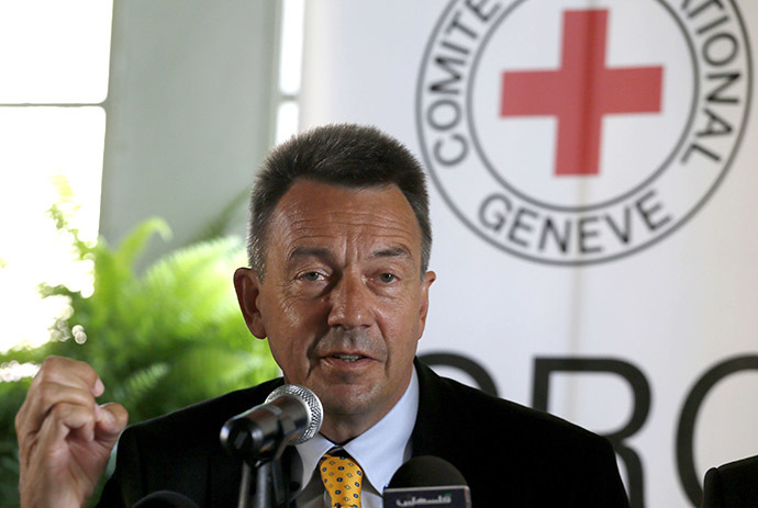 President of the International Committee of the Red Cross (ICRC) Peter Maurer (AFP Photo / Gali Tibbon)
