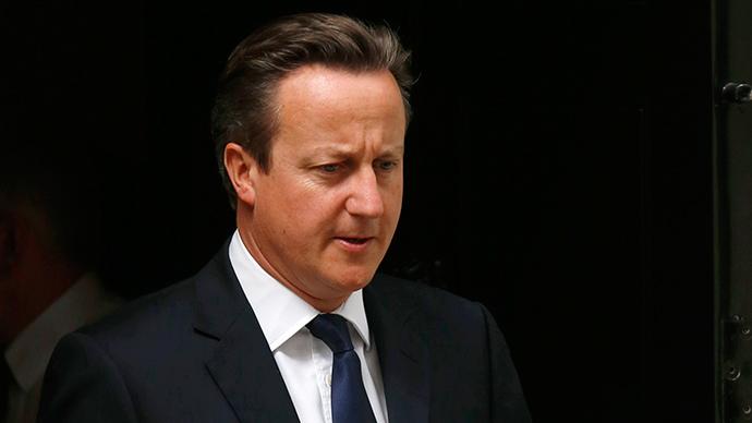 Britain's Prime Minister David Cameron (Reuters / Luke MacGregor)