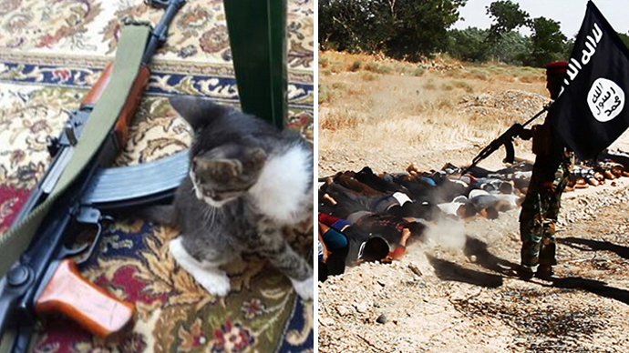 Combat kittens & hipster jihadists: ISIS target kids to spread their cause