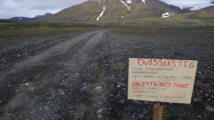 Iceland evacuates area near volcano amid eruption fears
