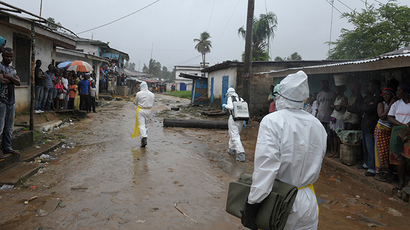 Fears of Ebola spreading in UK 'not justified' – London hospital