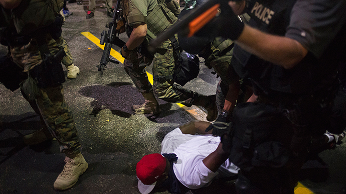 Cop suspended for threatening to kill Ferguson protesters, journalists (VIDEO)
