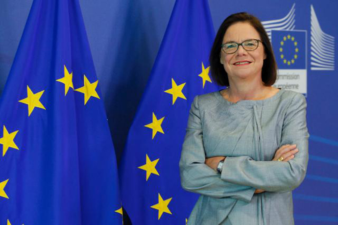 EU Justice Commissioner, Martine Reicherts, has accused tele-communications giant Google of undermining planned data protection reforms. (Image from v3.co.uk)