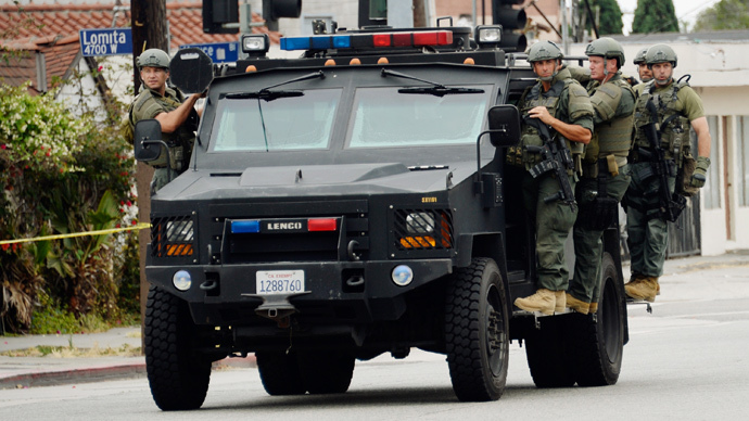 Police lobbies pressure Congress to keep their military equipment