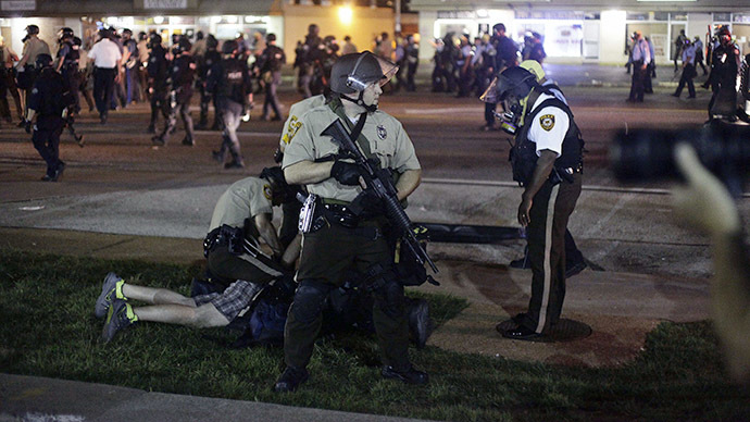 Cop suspended over Facebook post branding Ferguson protesters 'rabid dogs'