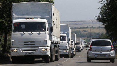 Mission completed: Moscow confirms delivery of aid to E. Ukraine, trucks return to Russia