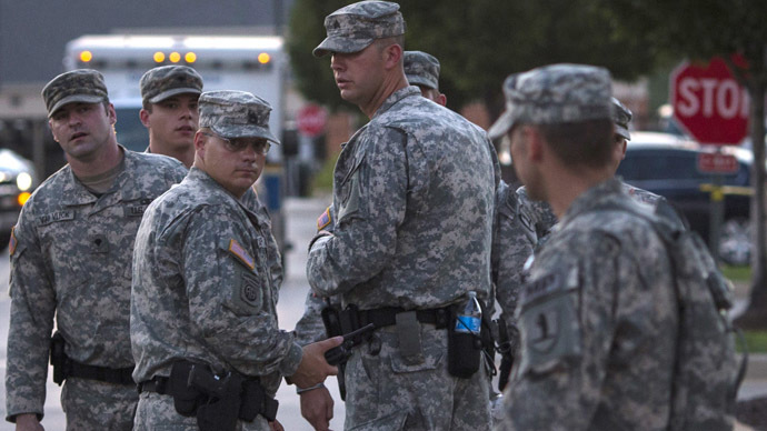 National Guard begins withdrawing from Ferguson after 2nd calm night in a row