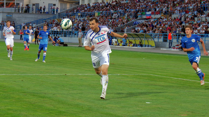 UEFA won't recognize Crimean clubs playing in Russian league