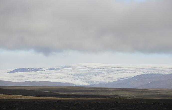 General view of the Hofsjokull glacier August 20, 2014 (Reuters / Sigtryggur Johannsson)