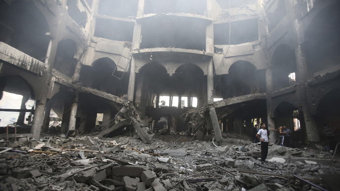 Israel levels high-rise buildings in Gaza: 'They housed Hamas op centers'