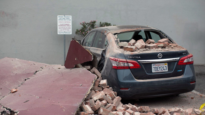 California earthquake losses could reach $1bn