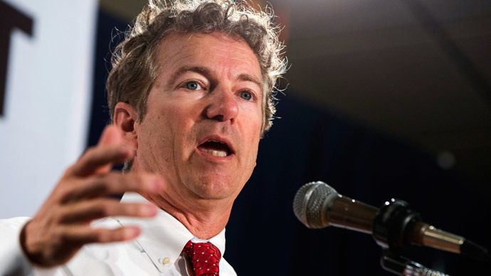 Rand Paul.(Reuters / Lucas Jackson)