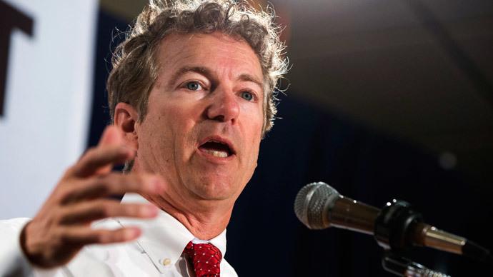 Rand Paul.(Reuters / Lucas Jackson)