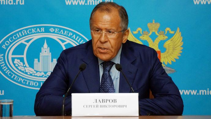 Russian Foreign Minister Sergei Lavrov.(RIA Novosti)